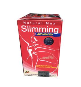 Original Red Natural Max Advanced Schlankheitspillen zur Gewichtsreduktion