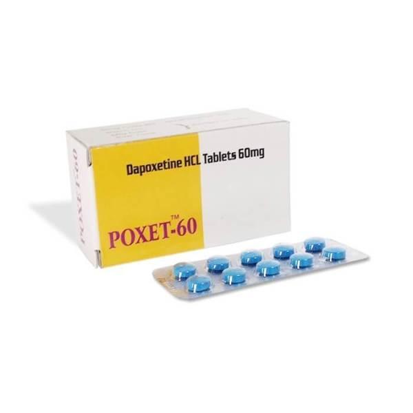 Poxet 60mg Depoxetine Anti Eyaculación Precoz Píldoras Sexuales para el Mejoramiento del Sexo Masculino
