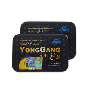 Pastillas de Enfriamiento de Disfunción Eréctil de Hierba Natural China YongGang Masculino