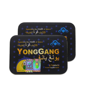 Pilules de renforcement de la dysfonction érectile de sexe masculin d'herbe naturelle forte chinoise YongGang