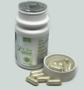 Píldoras adelgazantes naturales originales de Lida Daidaihua Lipo de la hierba 30 cápsulas