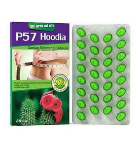 100% Natural Herbal P57 Hoodie Pérdida de peso Adelgazar Píldoras de dieta saludable