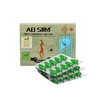 Natural Plant Strong Effect AB Slim Capsules Fat Burning Weight Loss Pills