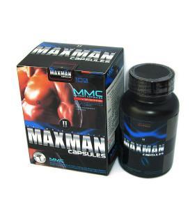 Pilules d'amélioration de sexe d'OEM MAXMAN II pour le traitement masculin de dysfonctionnement rénal