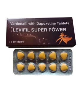 Pilules originales de sexe de Dapoxetine de puissance superbe de Vardenafil de Levifil pour le traitement masculin d'ED