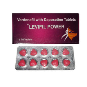 Original Levifil Power Vardenafil Dapoxetine Double Effect Strong Male ED Medications
