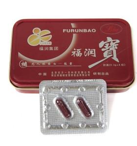 Pilules masculines d'amélioration de rein de sexe masculin de l'herbe chinoise 100% Furunbao naturelle