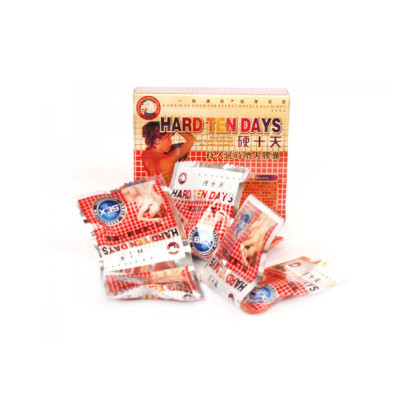 Hard Ten Days Natural Chinese Herbal Male Penis Erection and Enlargemen Enhancement Pills