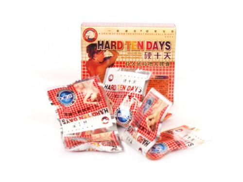 Difícil diez días de erección del pene masculino herbario chino natural y píldoras de mejora de agrandar