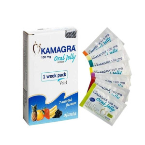 Original Sildenafil Kamagra 100mg Oral Jelly for Male Erectile Dysfunction Treatment