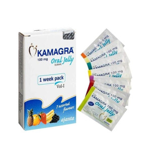 Original Sildenafil Kamagra 100mg Jelly Oral for Male Erectile Dysfunction Treatment