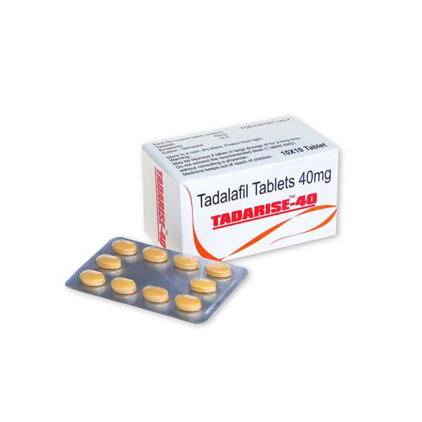 Original Tadalafil Tadarise 40mg genérico Cialis Sex Pills