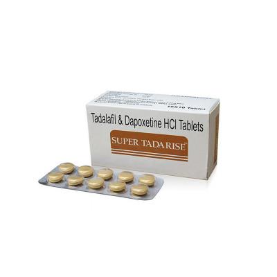 Píldoras sexuales originales de doble efecto Super Tadarise
