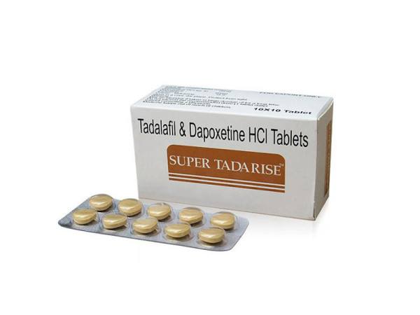 Generic Cialis with Dapoxetine Double Effect Super Tadarise Pills for Male Sex Enhancement