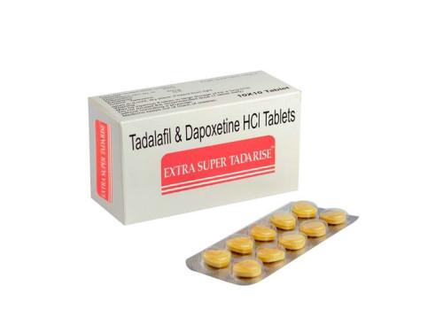 Generic Cialis Tadalafil with Dapoxetine Extra Super Tadarise Sex Enhancement Pills for Men