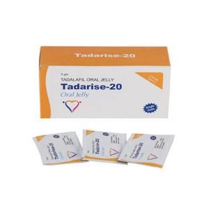 Original Tadalafil Tadarise Generico Cialis 20mg Jalea Oral