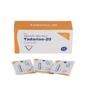 Original Tadalafil Tadarise Generisches Cialis 20mg Oral Jelly