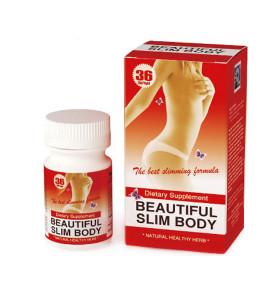 Original Natural Herb Extracts Beautiful Slim Body Weight Loss Diet Pills