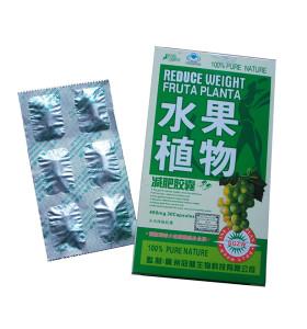 Original 100% Pure Nature Reduce el peso de la píldora de la dieta de la cápsula adelgazante de la planta de Fruta