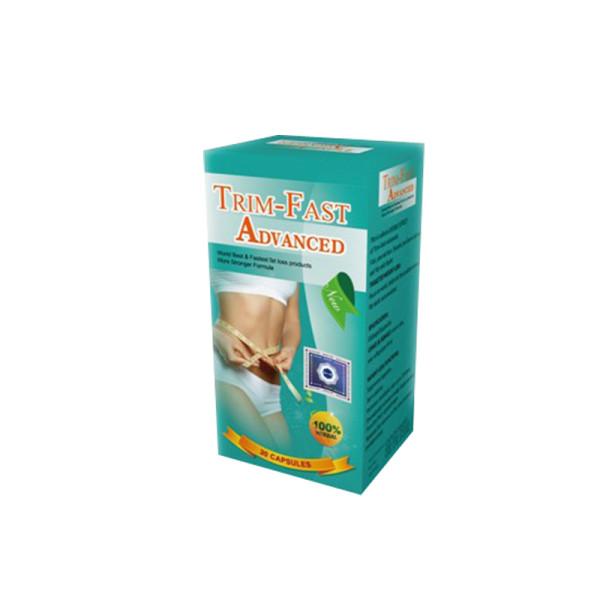 100% Pure Herbal Trim Fast Advanced Píldoras de dieta para perder peso rápidamente