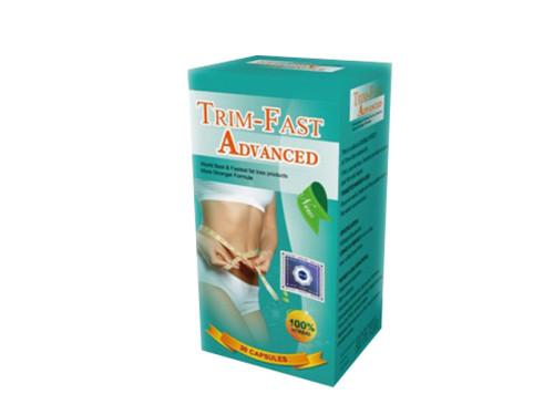 100% Pure Herbal Trim Fast Advanced Fast Weight Loss Diet Pills