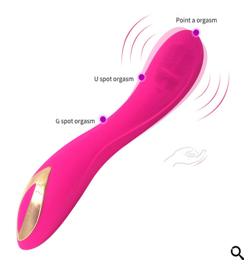 Adult female silicone waterproof vibrator