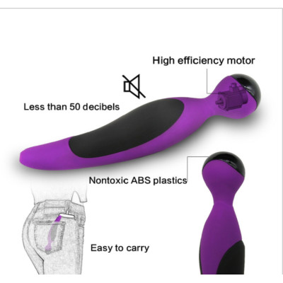 Sexy silicone waterproof stimulation female AV stick