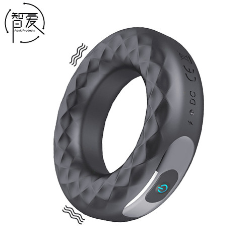 Charging Silicone Extended Time Vibration Ring