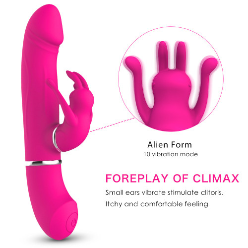 Female swing vibration simulation penis vibrator charging soft silicone turn beads female masturbation apparatus foreign trade explosion models
