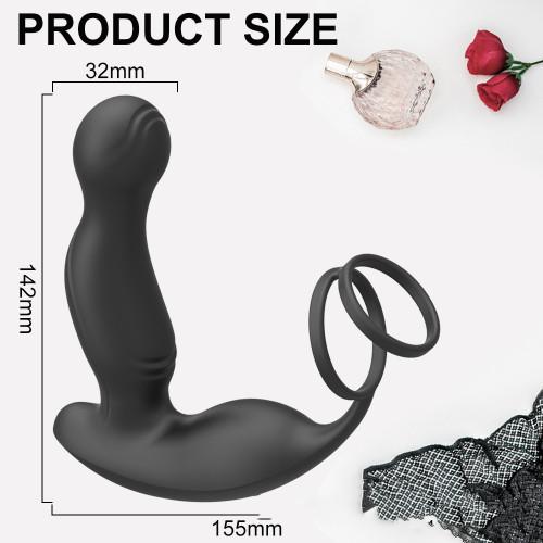 Male appliance masturbation device anal plug lock fine silicone prostate massager vestibular sex supplies sex toys wholesale