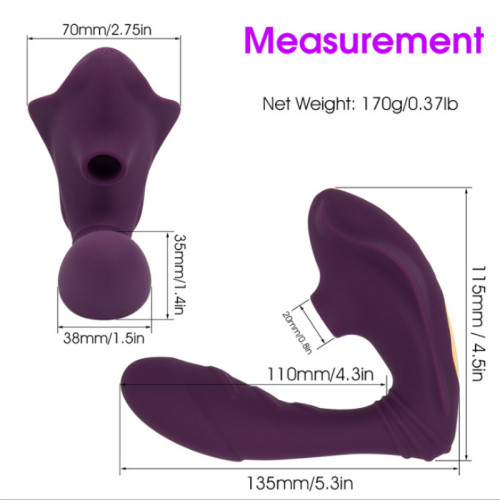 Adult supplies female sucking vibrator sucking vagina female masturbation female wear vibrating egg sex toy wholesale