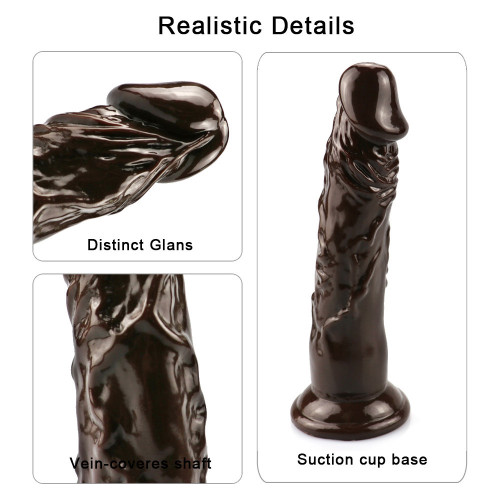 Foreign trade eggless female masturbation device sucker simulation dildo manual thrusting adult sex toys masturbation stick