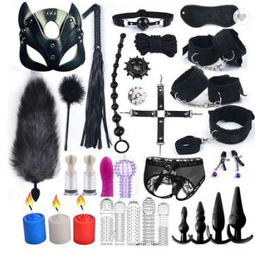 SM Sex Toys Set Combination Adult Sex Auxiliary Training Bondage Adult Sex Toy Wholesale