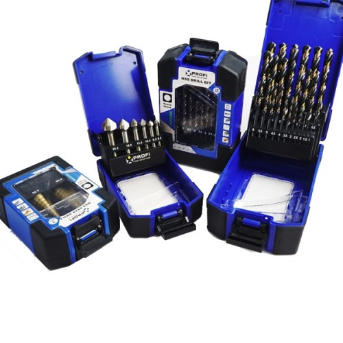 Moretop 20601005 GRIP Cassette HSS turboplus drill bit set box