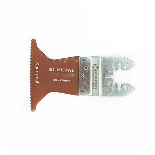 Moretop oscillating multi-tool curved bi-metal plunge cut blade 18902006 65mm