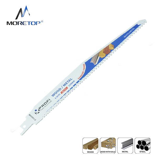 Moretop carbide tipped recip saw blade S1156XHM 228mm