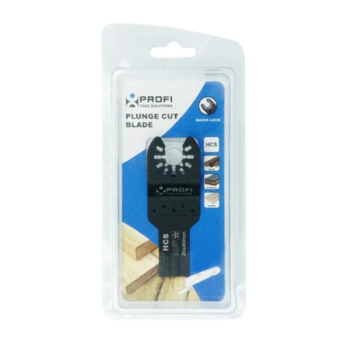 moretop oscillating multi-tool hcs plunge cut blade 18001002 20mm