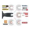 moretop oscillating multi-tool BIM plunge cut blade 18102005 65mm