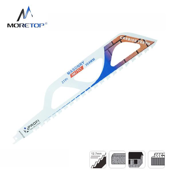 Moretop cutting for bricks recip saw blade S1243HM 305mm