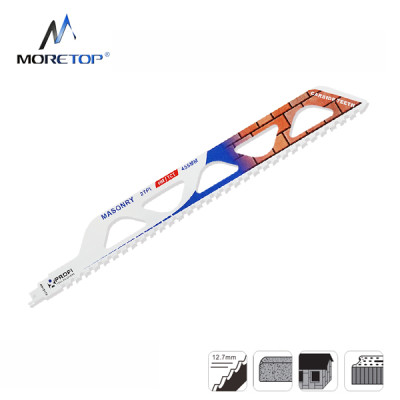 Moretop cutting for bricks recip saw blade S2243HM 457mm
