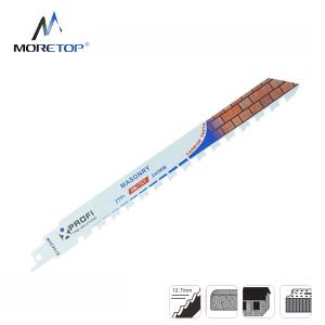 Moretop cutting for bricks recip saw blade S1543HM 240mm