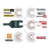 moretop oscillating multi-tool BIM plunge cut blade 18102001 10mm