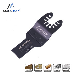 moretop oscillating multi-tool BIM plunge cut blade 18102002 20mm