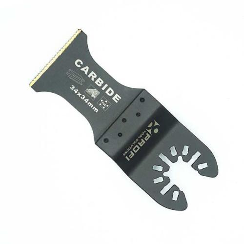 Moretop oscillating multi-tool carbide teeth plunge cut blade 18105001 34mm