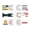 moretop oscillating multi-tool BIM plunge cut blade 18103002 44mm