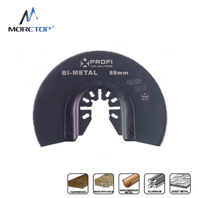 moretop oscillating multi-tool BIM segment saw blade 18104002 88mm