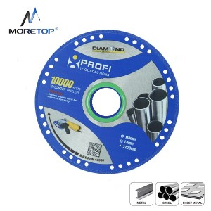 Moretop vacuum brazed metal cutting blade 115mm 10122001