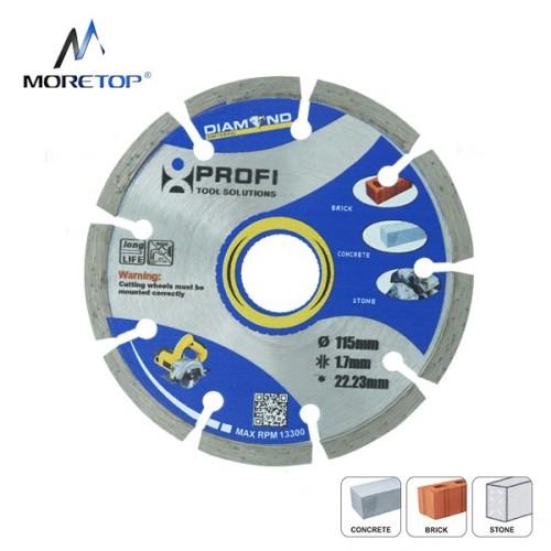 Moretop standard segmented blade 115mm 10101001