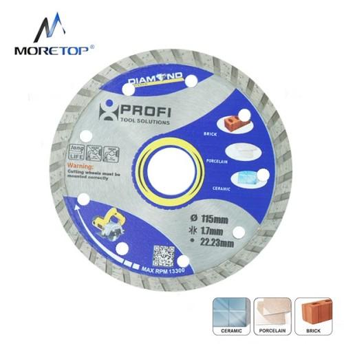 Moretop standard turbo cutting rim diamond blade 115mm 10103001