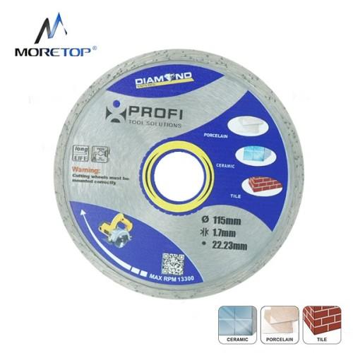Moretop standard continious cutting rim blade 115mm 10102001